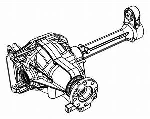 Jeep Liberty Drive Axle Assembly  Front   4wd  3 73 Ratio