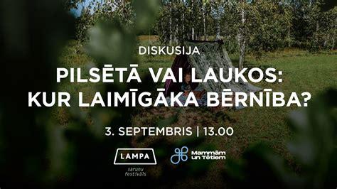 YIT LATVIJA dalība sarunu festivālā LAMPA 2020   YIT.LV