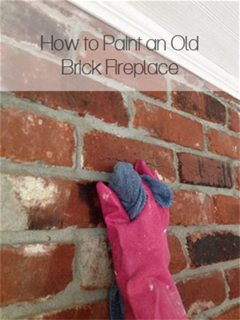 hometalk   paint   brick fireplace