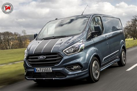 Ford Custom by Nuovo Motore Ecoblue Per Il Ford Transit Custom 2017