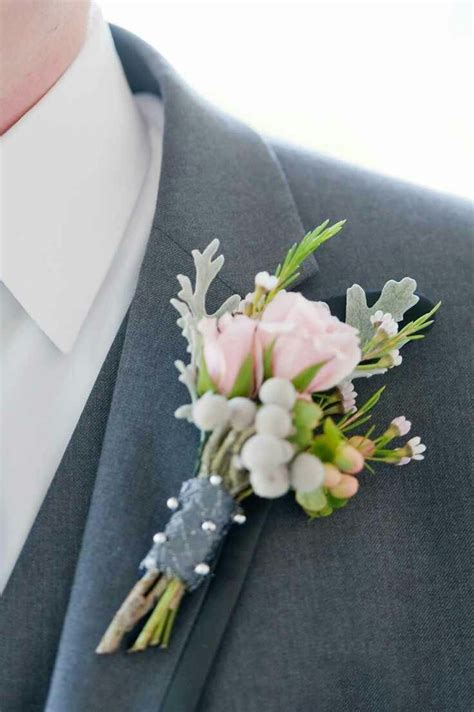 buttonholes  corsages wedding flowers  greenery