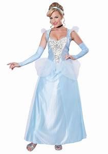 Classic Plus Size Cinderella Costume 1X 2X 3X  Cinderella