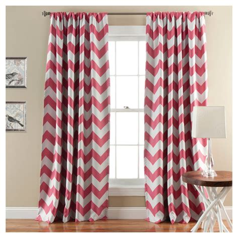 chevron window curtains target chevron blackout curtain panels set of 2 ebay