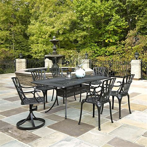 home styles harbor 7 oval patio dining set