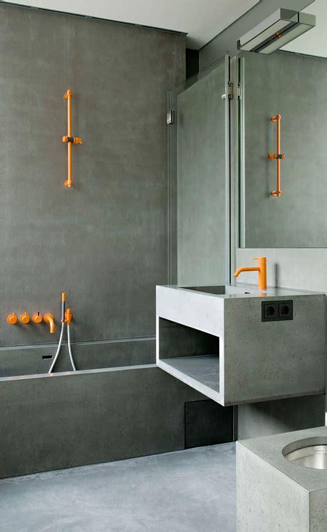 orange and gray bathroom ideas bathroom bliss by rotator rod trending in bathroom decor neon goes from runway to the bathroom
