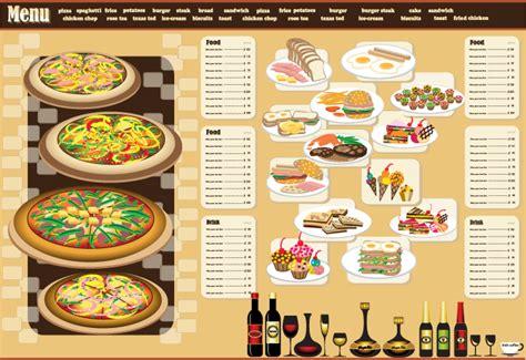 free menu design restaurant menu design 03 vector free vector 4vector