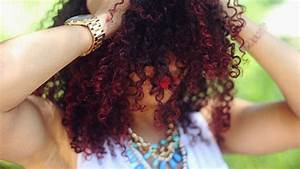 How to Dye Natural Hair Bright Red