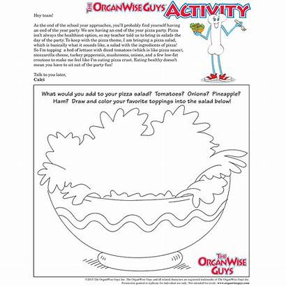 Activity Healthy Sheet Party Organwise Guys