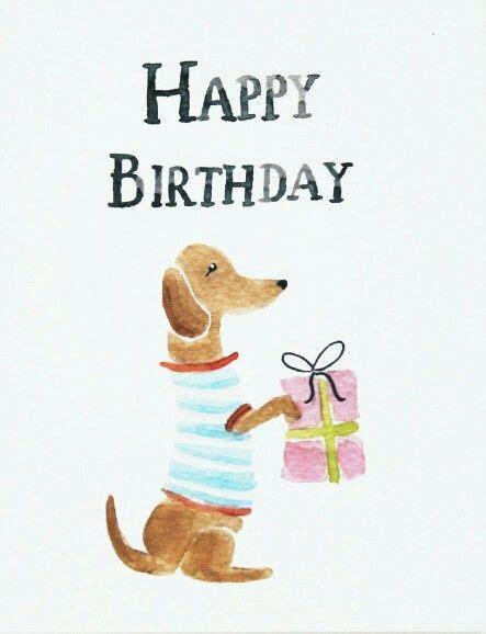 birthday bob  dachshund happy birthday dachshund