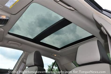 panoramic sunroof    chrysler  limited