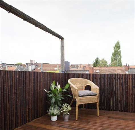Bambus Für Balkon by Balkon Sichtschutz Aus Bambus Praktische Und Originelle Idee