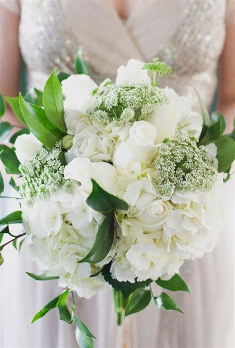 ideas  hydrangea wedding bouquets