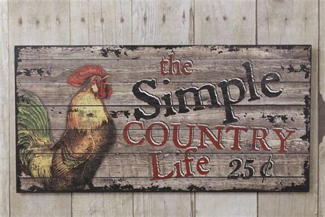 New Farmhouse Primitive The Simple Country Life Rooster