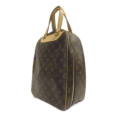louis vuitton excursion shoe case handbag  monogram canvas brown  lv ebay