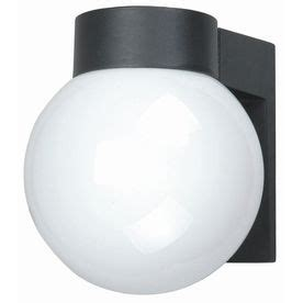 portfolio 7 in black outdoor wall light mid century and
