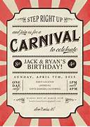 Carnival Party Ideas New Kids Center 40th Birthday Ideas Carnival Birthday Invitation Template 40th Birthday Ideas Carnival Birthday Invitation Template Printable Circus Theme Birthday Party Invitation 4x6 Or 5x7