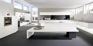 Cuisine Moderne Design : cuisine moderne ouverte sur composition de salon ~ Preciouscoupons.com Idées de Décoration