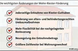 Lbs Wohn Riester : wohn riester wird flexibler bild pressemitteilung lbs ~ Lizthompson.info Haus und Dekorationen