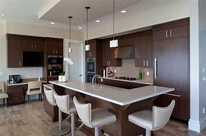 elegant black kitchen cabinetry with marble countertop and With kitchen colors with white cabinets with mountain bike wall art