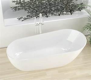 Freistehende Badewanne Mineralguss : freistehende badewanne aus mineralguss kzoao 1488 badewelt ~ Michelbontemps.com Haus und Dekorationen