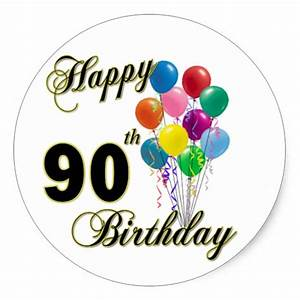 90th Birthday Gifts - T-Shirts, Art, Posters & Other Gift