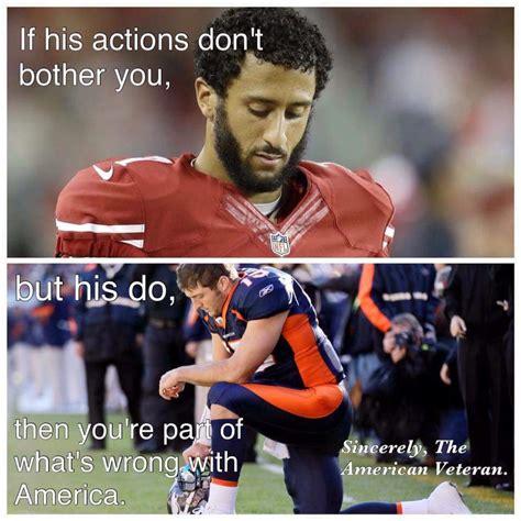 Colin Kaepernick Memes - meme nails leftist hypocrisy over nfl thug disrespecting america