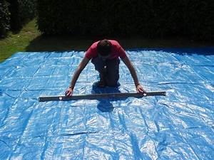 Montage d'une piscine Intex Easy Set Autoportée