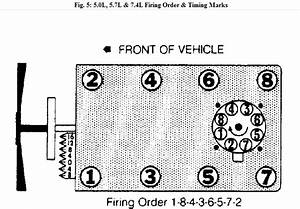 Need To Know What The Firing Order Is For A 1990 Chevy