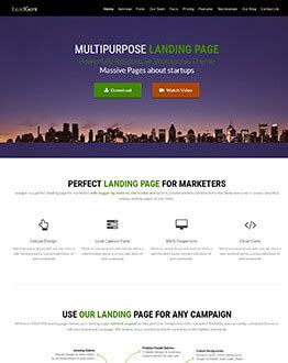 leadgen wordpress landing page theme   unique