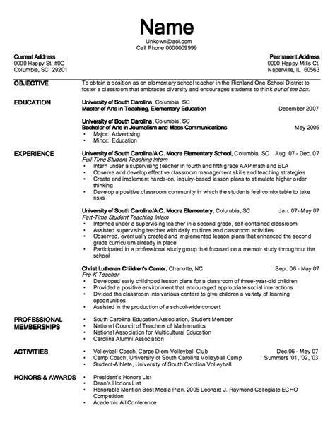 Resume Workshop Lesson Plan