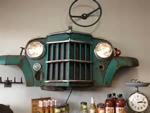 Truck Vintage Car Grill Wall Art