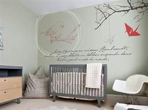 stickers panda chambre bb latest rideau chambre bebe With chambre bébé design avec piercing fleur