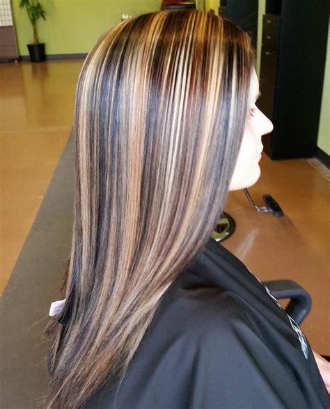 High Contrast Highlight Long hair styles Hair styles