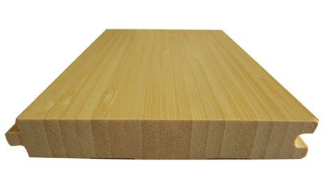 Vertical Natural Bamboo Flooring : Solid : Classic