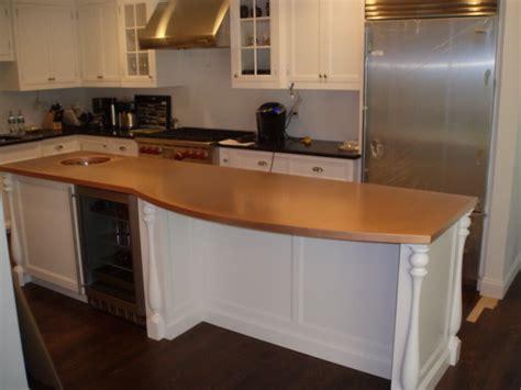 kitchen island tops copper countertops hoods sinks ranges panels by