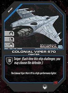 battlestar galactica collectible card game wikipedia