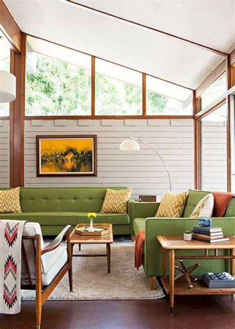 55 Beautiful Mid Century Living Room Decor Ideas Mid