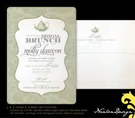 bridal shower invitations bridal brunch shower