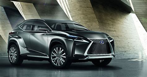 lexus crossover it 39 s official the lexus lf nx suv concept is more