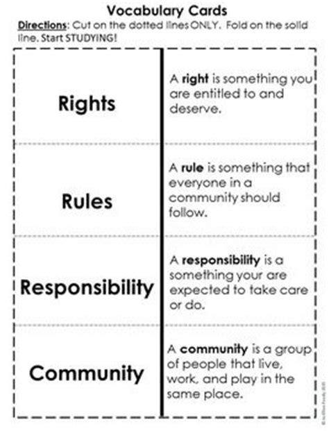 rights rules and responsibilities citizenship