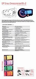 Diagram  Wiring Diagram Koso Rx2 Replika Full Version Hd