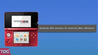3ds emulator for android free best nintendo 3ds emulator for android windows and mac in