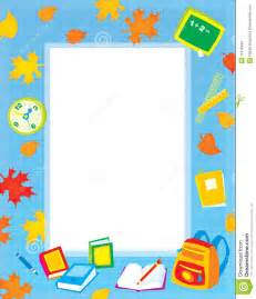 School Clip Art Borders and Frames