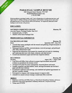Paralegal resume sample project scope template for Legal document assistant courses