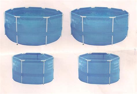 fish farming  easy  collapsible pond