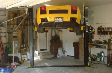 cost to install car lift in garage installing a car lift