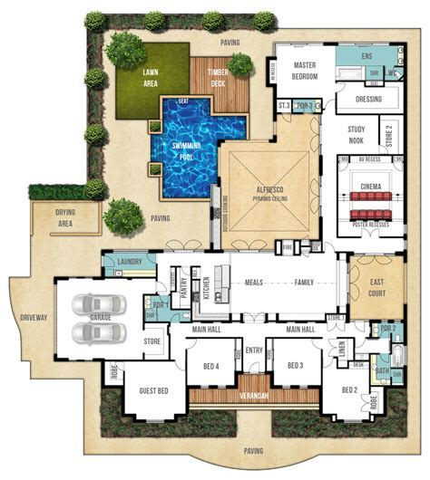 home layout planner country home design quot the farmhouse quot by boyd design perth