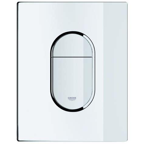 plaque de commande wc grohe arena cosmopolitan 38844p00 38844000 plomberie sanitaire chauffage