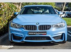 Breathtaking Yas Marina Blue BMW M3 Spotted in the Wild