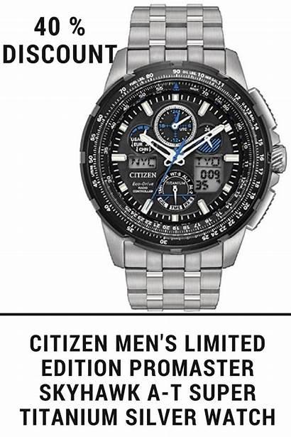 Citizen Skyhawk Limited Edition Promaster Titanium Amzn
